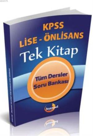 Kısayol 2016 Kpss Lise Önlisans Tüm Dersler Soru Bankası Tek Kitap