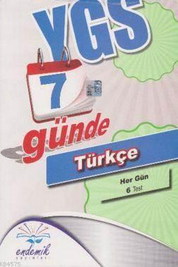 Ygs 7 Günde Türkçe