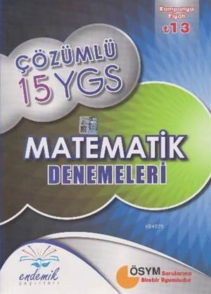 Endemik Çözümlü 15 Ygs Matematik Denemeleri - Kampanyalı