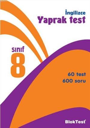 İngilizce Yaprak Test 8