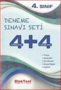 4. Sınıf Deneme Sınavı Seti 4+4 1.Dönem Sınavı