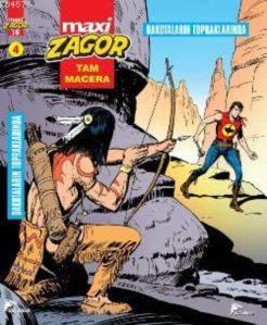 Zagor Maxi 4; Dakotaların Topraklarında