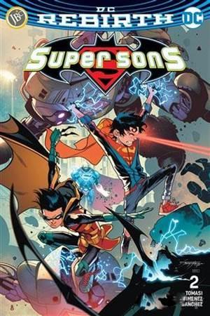 Super Sons Sayı 2  ...