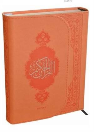 Kur'an-I Kerim (Orta Boy); (2016 Termo Deri Turuncu - Bilgisayar Hatlı)