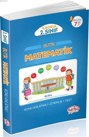 2.Sınıf Butik Matematik Konu Anlatımlı