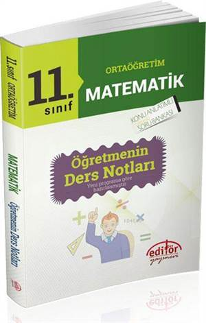 11. Sınıf Matematik Öğretmenin Ders Notları