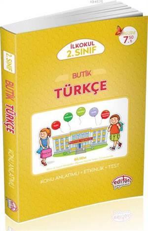 2.Sınıf Butik Türkçe Konu Anlatımlı