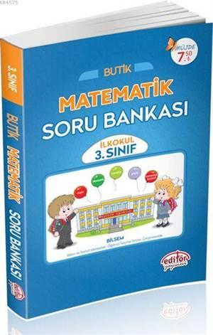 3. Sınıf Butik Matematik Soru Bankası