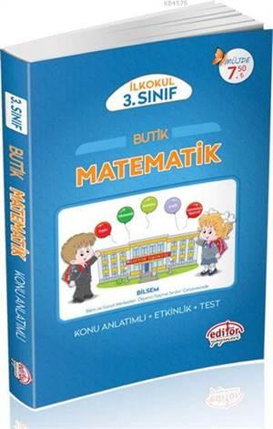 3. Sınıf Butik Matematik Konu Anlatımlı