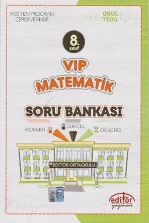 8. Sınıf VİP Matematik Soru Bankası