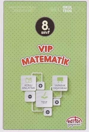 8. Sınıf VİP Matematik Konu Anlatımlı