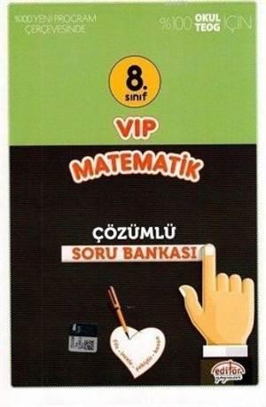 8. Sınıf VIP Matematik Çözümlü Soru Bankası