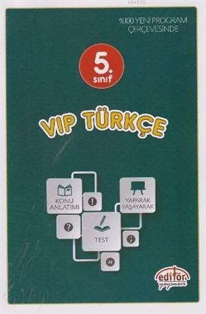 5. Sınıf VİP Türkçe Konu Anlatımlı