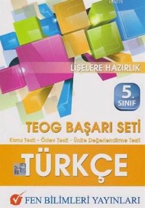 Fen 5. Sınıf Teog Türkçe Başarı Seti