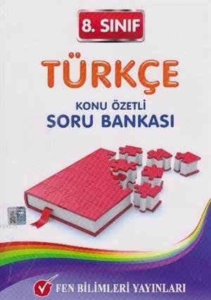 8. Sınıf Türkçe; Konu Özetli Soru Bankası