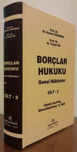 Borçlar Hukuku Genel Hükümler ( CİLT 2 )