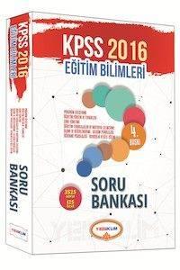 2016 Yediiklim KPSS Eğitim Bilimleri Soru Bankası