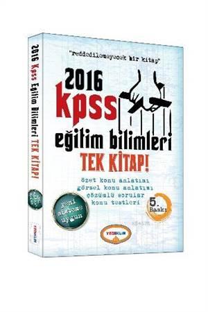 Yediiklim Kpss Eğitim Bilimleri Konu Anlatımlı Tek Kitap 2016