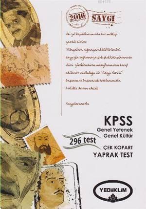 Yediiklim Kpss Genel Yetenek Genel Kültür Çek Kopart Yaprak Test 2016