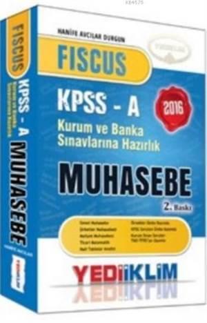 Yediiklim Fiscus KPSS-A Muhasebe Konu Anlatımlı