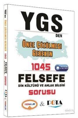 YGS Den Önce Çözülmesi Gereken 1045 Felsefe Din Kültürü Ve Ahlak Bilgisi Sorusu