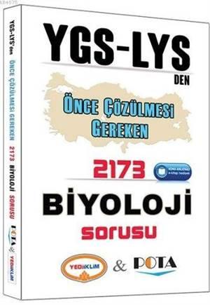 YGS LYS Den Önce Çözülmesi Gereken 2173 Biyoloji Sorusu