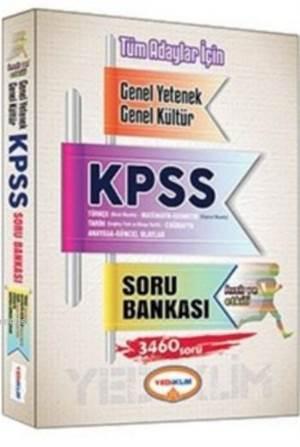 Yediiklim KPSS Genel Yetenek Genel Kültür Tüm Adaylar İçin Tek Kitap Soru Bankası