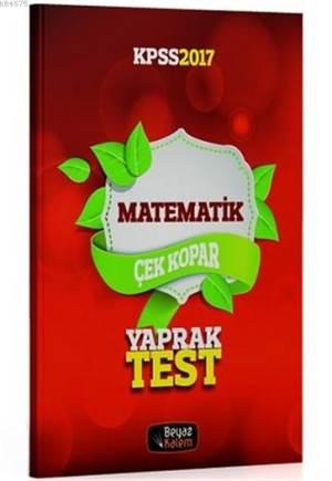 2017 KPSS Matematik Çek Kopar Yaprak Test