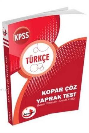 2017 KPSS Türkçe Kopar Çöz Yaprak Test