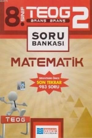 Evrensel İletişim 8.Sınıf Teog 2 Matematik Soru Bankası