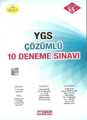 YGS Çözümlü 10 Deneme