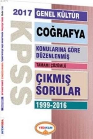 Kpss 2017 Genel Kültür Coğrafya Konularına Göre Düzenlenmiş; Tamamı Çözümlü Çıkmış Sorular 1999-2016
