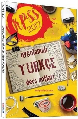 2017 KPSS Uygulamalı Türkçe Ders Notları