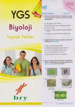 YGS Biyoloji Yaprak Testler