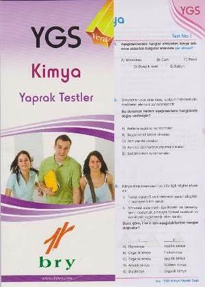 YGS Kimya Yaprak Testler
