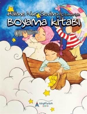 Halime Nur Sevim'in Çizimleriyle Boyama Kitabı