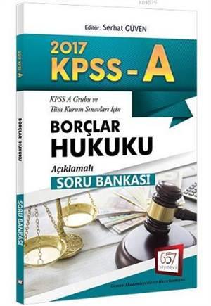 657 Kpss A Grubu Borçlar Hukuku Açıklamalı Soru Bankası