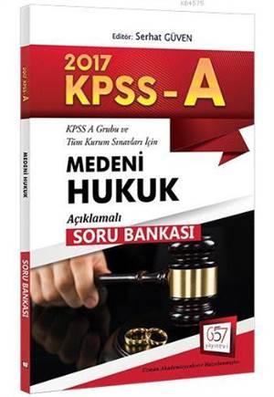 657 Kpss A Grubu Medeni Hukuku Açıklamalı Soru Bankası