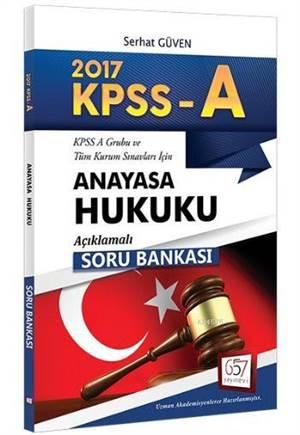 657 Kpss A Grubu Anayasa Hukuku Açıklamalı Soru Bankası