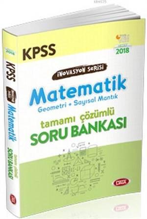 KPSS İnovasyon Serisi Matematik Tamamı Çözümlü Soru Bankası