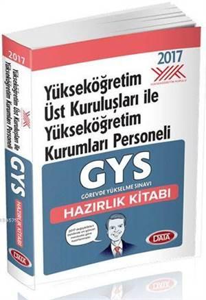 GYS Yükseköğretim Üst Kuruluşları İle Yükseköğretim Kurumları Hazırlık Kitabı 2017