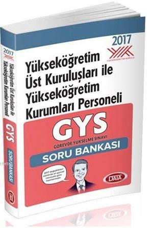 GYS Yükseköğretim Üst Kuruluşları İle Yükseköğretim Kurumları Soru Bankası 2017