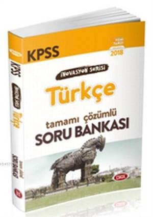 Data Kpss İnovasyon Serisi Türkçe Tamamı Çözümlü Soru Bankası-2018