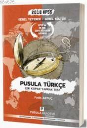 2018 KPSS GYGK Pusula Türkçe Çek Kopar Yaprak Test