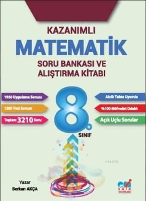 8.Sınıf Kazanımlı Matematik Soru Bankası Ve Alıştırma Kitabı