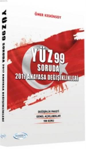 Yüz99 Soruda 2017 Anayasa Değişiklikleri
