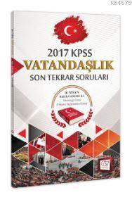 2017 KPSS Vatandaşlık Son Tekrar Soruları