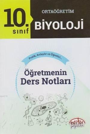10. Sınıf Ortaoğretim Biyoloji Öğretmenin Ders Notları