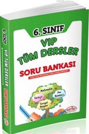 6.Sınıf Vip Tüm Dersler Soru Bankası