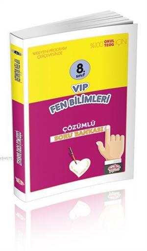 8. Sınıf VIP Fen Bilimleri Çözümlü Soru Bankası